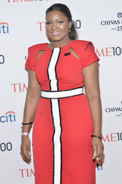Omotola Jalade-Ekeinde at the Time 100 Gala - April 2014 - BellaNaija    Omotola Jalade Ekeinde 2014
