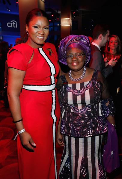 Omotola Jalade-Ekeinde & Ngozi Okonjo-Iweala