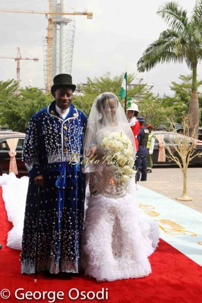 President Goodluck Jonathan of Nigeria Daughter's Wedding - Faith Sakwe Elizabeth & Edward Osim | Photography by George Osodi | BellaNaija Weddings 011