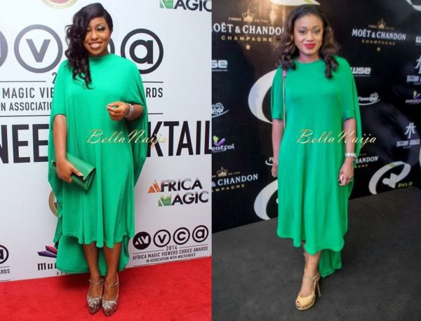 Rita Dominic & Lanre Da Silva-Ajayi in LDA - BN Pick Your Fave - BellaNaija Style - BellaNaija,com