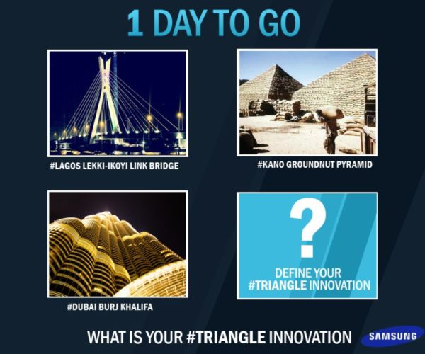 Samsung #Triangle Competition - BellaNaija - April 2014