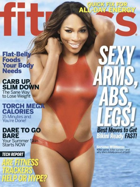 Serena Williams for Fitness Magazine May 2014 - BellaNaija - April 2014