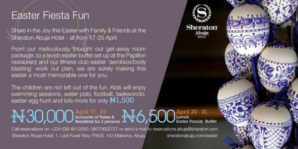 Sheraton Hotel Abuja Easter Fiesta Fun 2014 - BellaNaija - April 2014