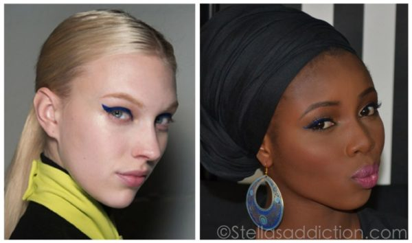 Stellas Addiction & BN Beauty Get This Look Blue Eyeliner - BellaNaija - April2014002