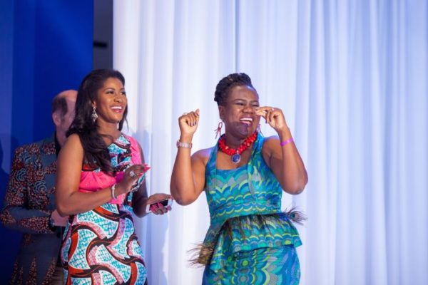 Stephanie Linus at Vlisco Award Night in Ghana - April 2014 - BellaNaija - 026