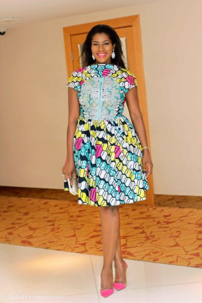 Stephanie Okereke-Linus in Vlisco BellaNaija