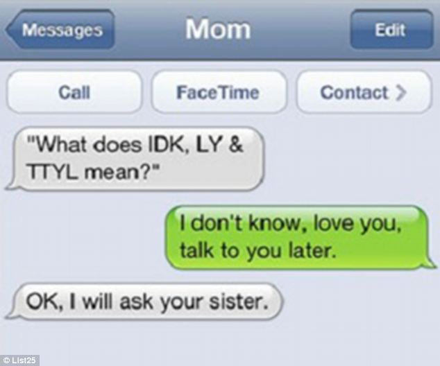 Some of the Funniest Text Messages Ever Sent by Parents ...