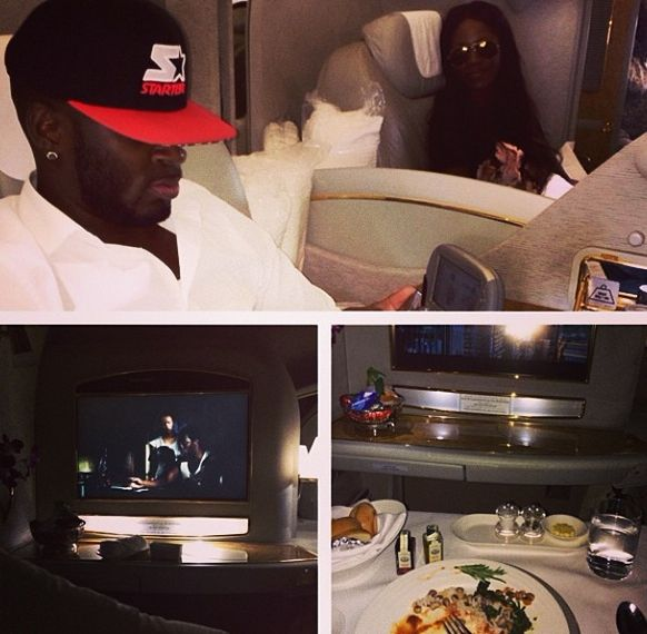 Tiwa Savage & Tee Billz - April 2014 - Heading Back Home - BellaNaija.com