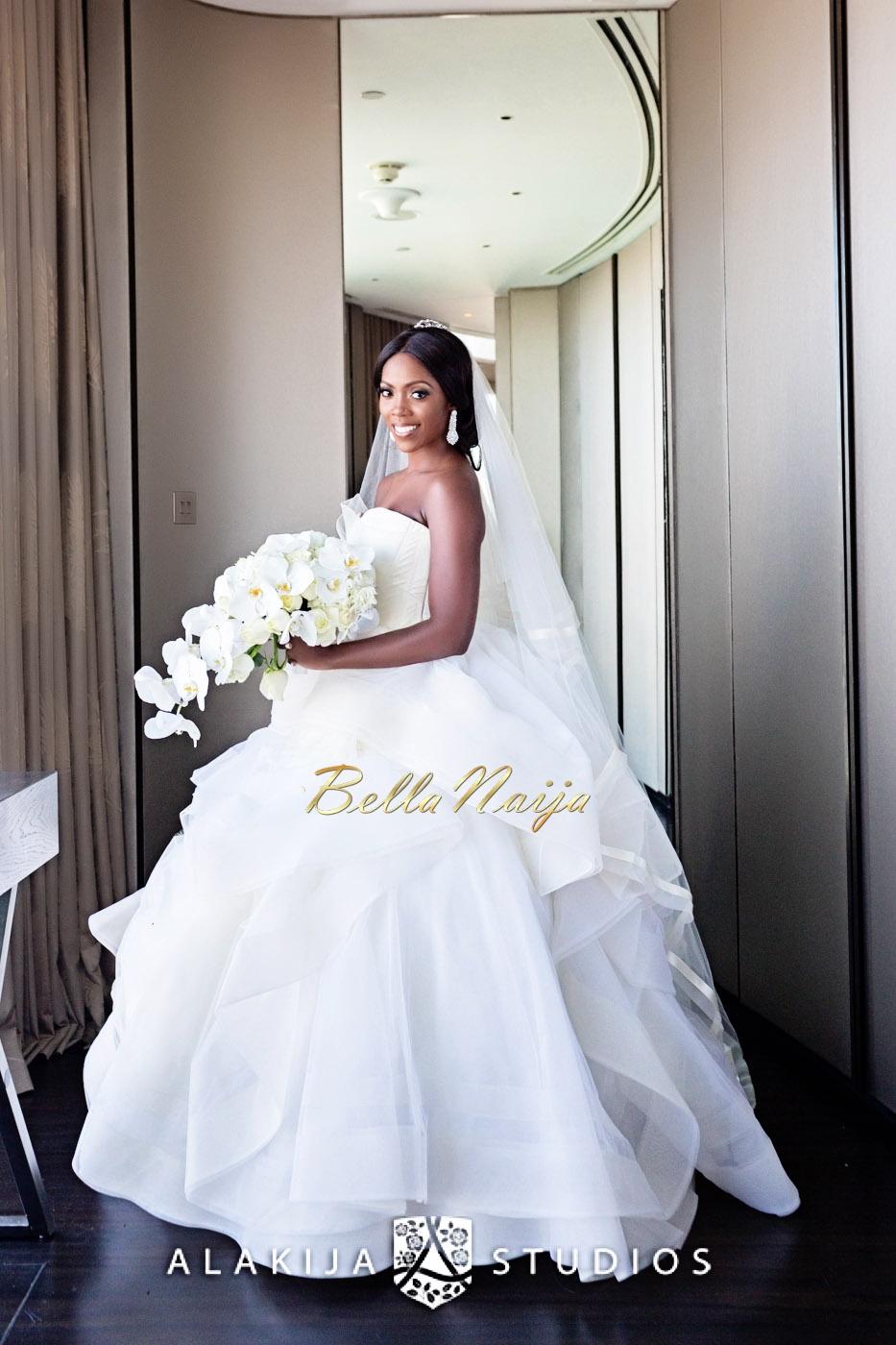Tiwa Savage Wedding Dress Alakija Studios1