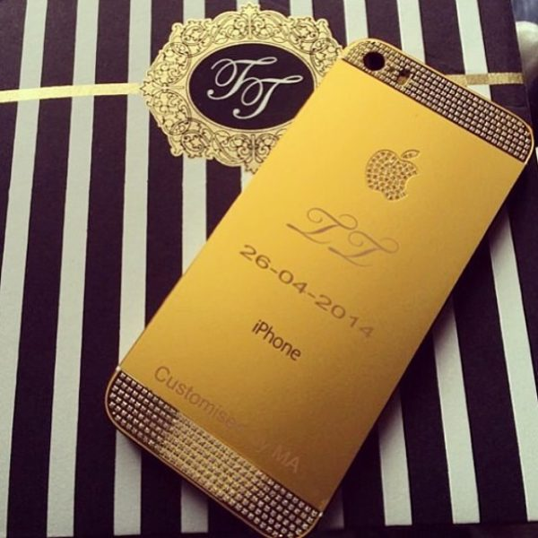 Tiwa Tee Billz Custom iPhone