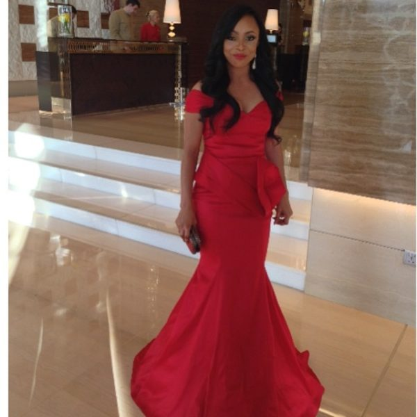 Toke Makinwa in April by Kunbi