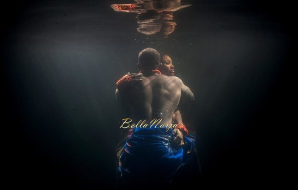 Underwater Pool Pre-Wedding Photo Shoot| Engagement Session | Nigerian American Igbo Couple | Ugochi Nnamdi | BellaNaija | Zorz Studios 06