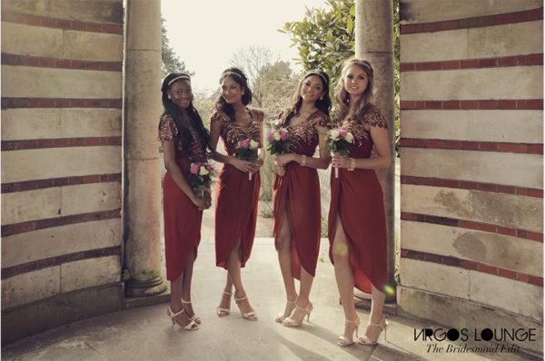 Virgos Lounge Bridesmaids Dresses_BellaNaija 2