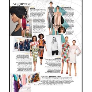 Vogue India Spotlights Temple Muse, Maki Oh and LDA - BellaNaija - April 2014001