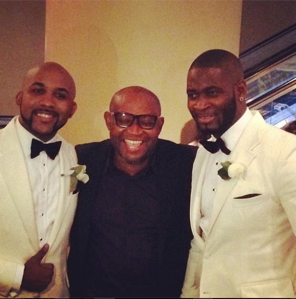 TJ, Paulo & Best man - Banky W