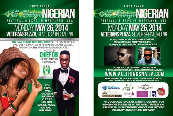1st Annual All Things Nigerian Festival & Expo - BellaNaija - May 2014