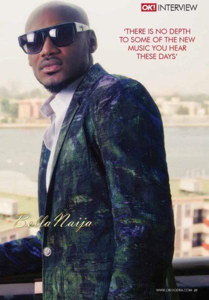 2Face Idibia on OK! Nigeria Magazine on BellaNaija - May 2014  - BellaNaija004