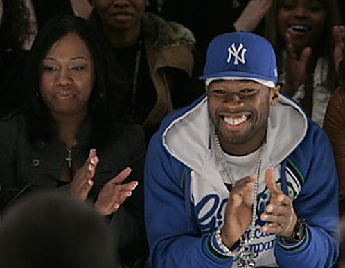 50 Cent & Shanqiua Tompkins - May 2014 - BellaNaija.com 01