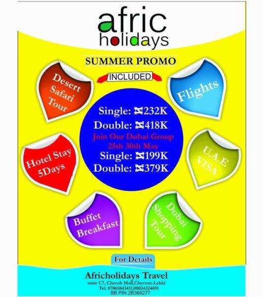 Afric Holidays Summer Promo - May 2014 - BellaNaija.com 01