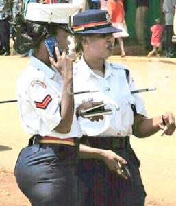 Bootylicious Corporal Linda Okello Bella Naija