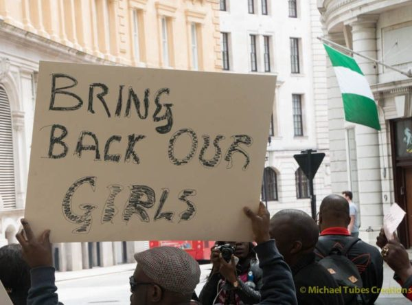 Bring Back Our Girls Protest in London - BellaNaija - 022