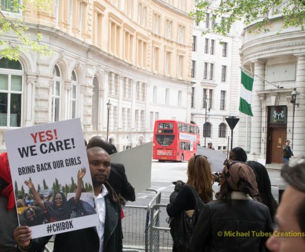 Bring Back Our Girls Protest in London - BellaNaija - 023