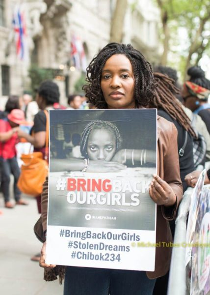 Bring Back Our Girls Protest in London - BellaNaija - 029