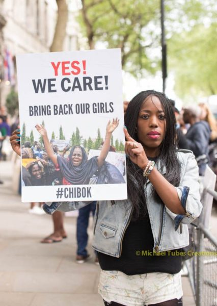 Bring Back Our Girls Protest in London - BellaNaija - 030