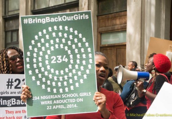 Bring Back Our Girls Protest in London - BellaNaija - 032
