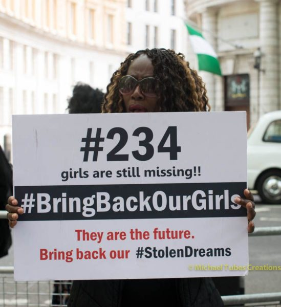 Bring Back Our Girls Protest in London - BellaNaija - 034