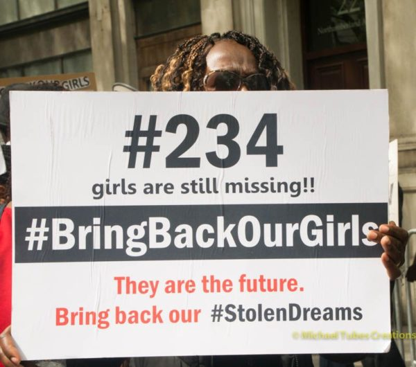 Bring Back Our Girls Protest in London - BellaNaija - 043