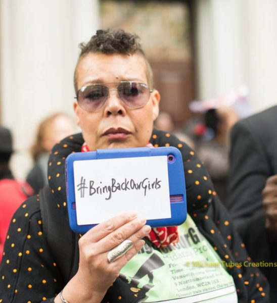 Bring Back Our Girls Protest in London - May 2014  - BellaNaija002