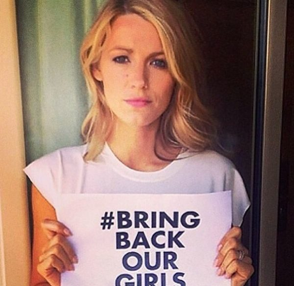 #BringBackOurGirls - Blake Lively - May 2014 - BellaNaija.com 01