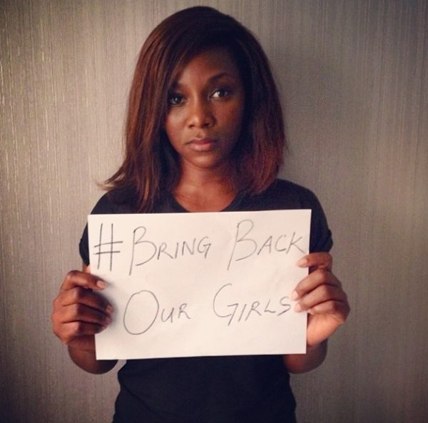 #BringBackOurGirls - Genevieve Nnaji - May 2014 - BellaNaija.com 01