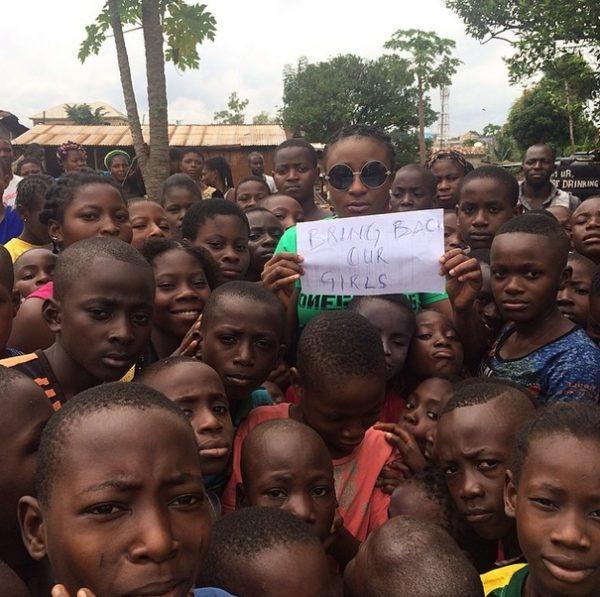 #BringBackOurGirls - Ini Edo - May 2014 - BellaNaija.com