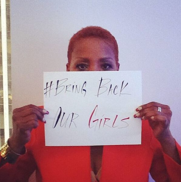 #BringBackOurGirls - Iyanla Vanzant - May 2014 - BellaNaija.com 01