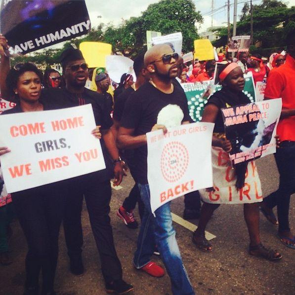 #BringBackOurGirls - Lagos Match - May 2014 - BellaNaija.com 01
