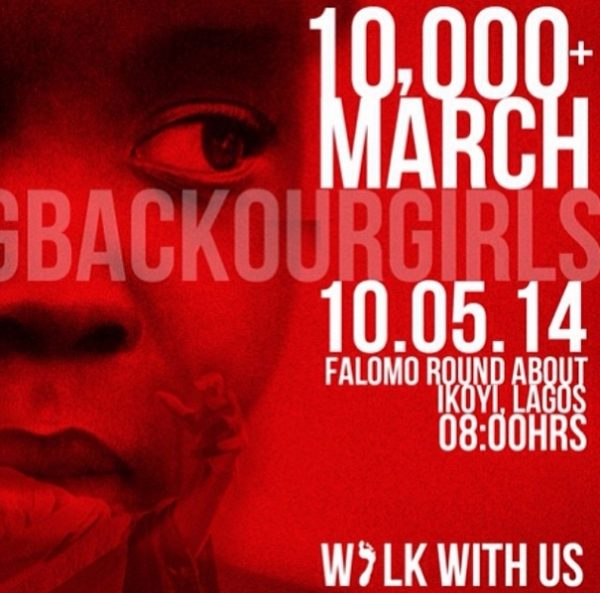 #BringBackOurGirls - Lagos Rally  - May 2014 - BellaNaija.com