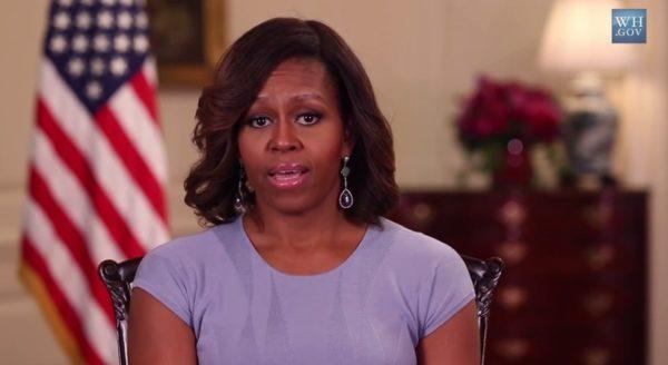 #BringBackOurGirls - Michelle Obama - May 2014 - BellaNaija.com 01