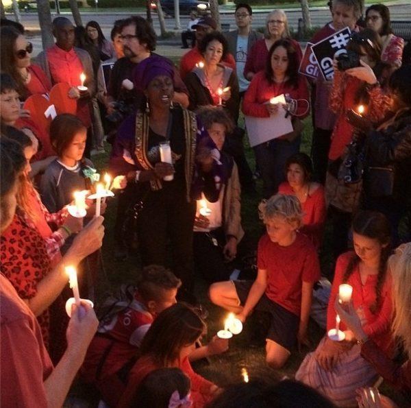 #BringBackOurGirls - Mother's Day Vigil in LA - May 2014 - BellaNaija.com