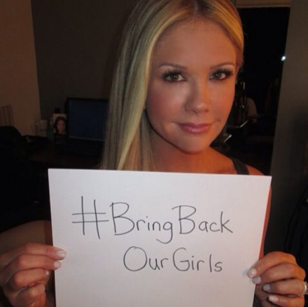 #BringBackOurGirls - Nancy O'Dell - May 2014 - BellaNaija.com 01