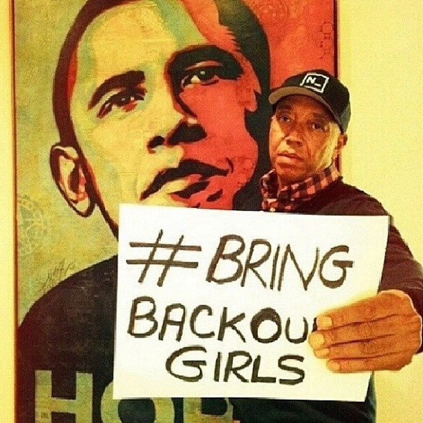 #BringBackOurGirls - Russel Simmons  - May 2014 - BellaNaija.com
