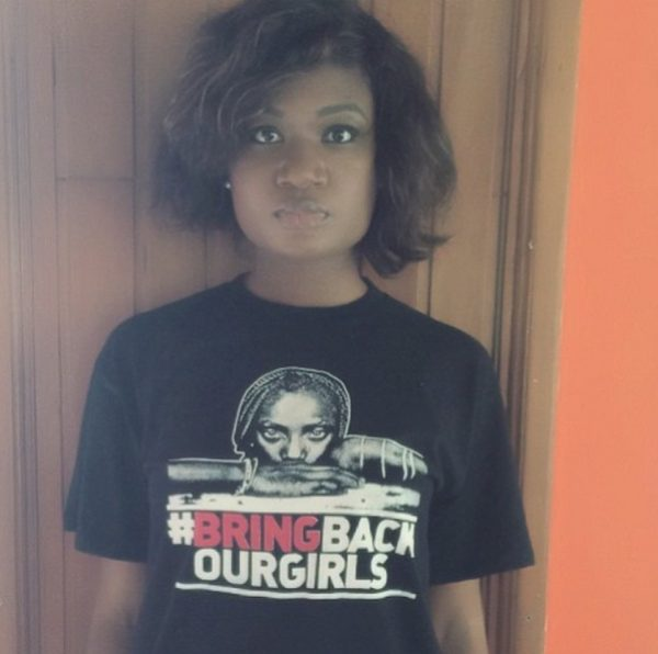 #BringBackOurGirls - Sandra Ankobiah  - May 2014 - BellaNaija.com