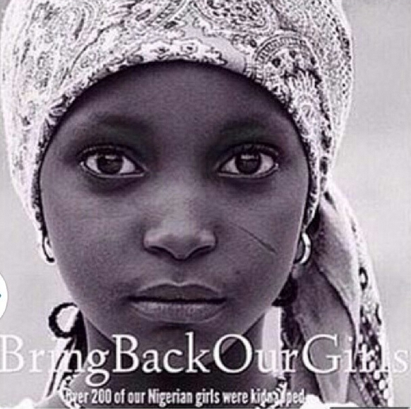 #BringBackOurGirls - Seyi Shay - May 2014 - BellaNaija.com