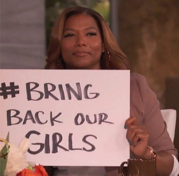 #BringBackOurGirls - The Queen Latifah Show - May 2014 - BellaNaija.com 01