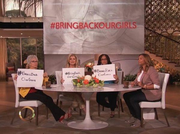 #BringBackOurGirls - The Queen Latifah Show - May 2014 - BellaNaija.com 02