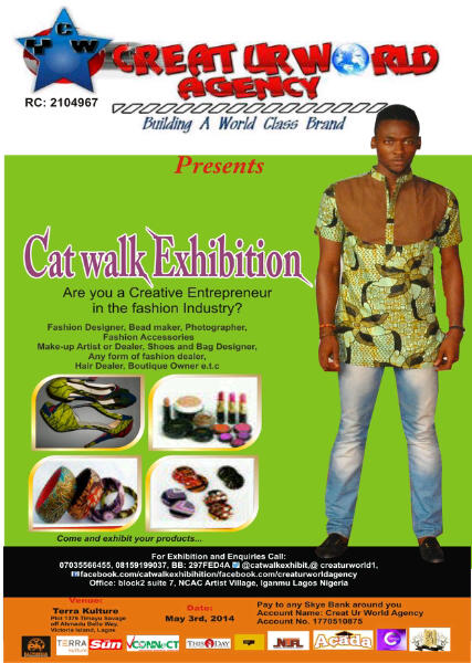 Catwalk Exhibition - BellaNaija - April - 2014