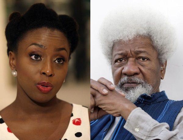 Chimamanda Ngozi Adichie & Wole Soyinka - May 2014 - BellaNaija.com 01