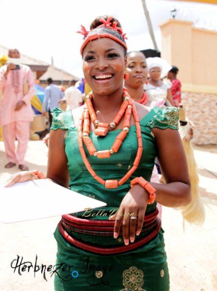 Chisom & Nonso   DJ Big N Wedding   Igbo Nigerian Wedding   BellaNaija 01