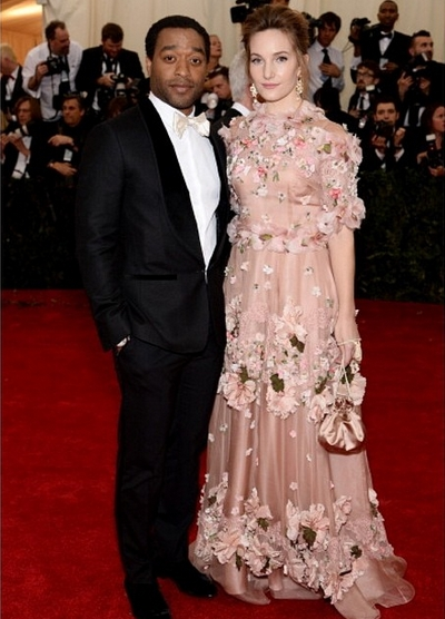 Chiwetel Ejiofor & Sari Mercer - May 2014 - BellaNaija.com